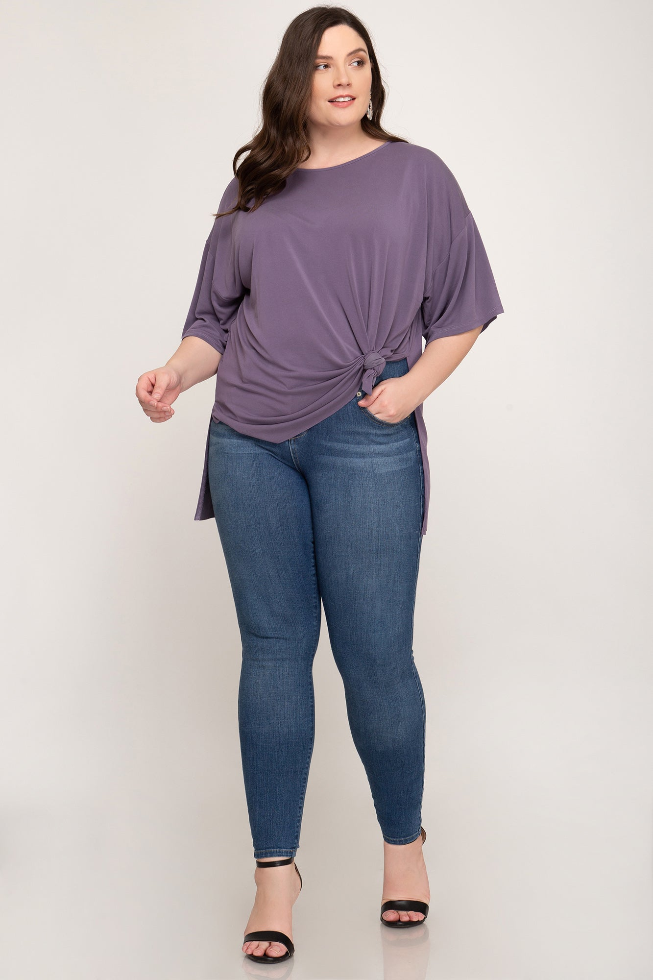 Side Knot Modal Tee