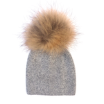 Tessa Beanie- Heather Grey