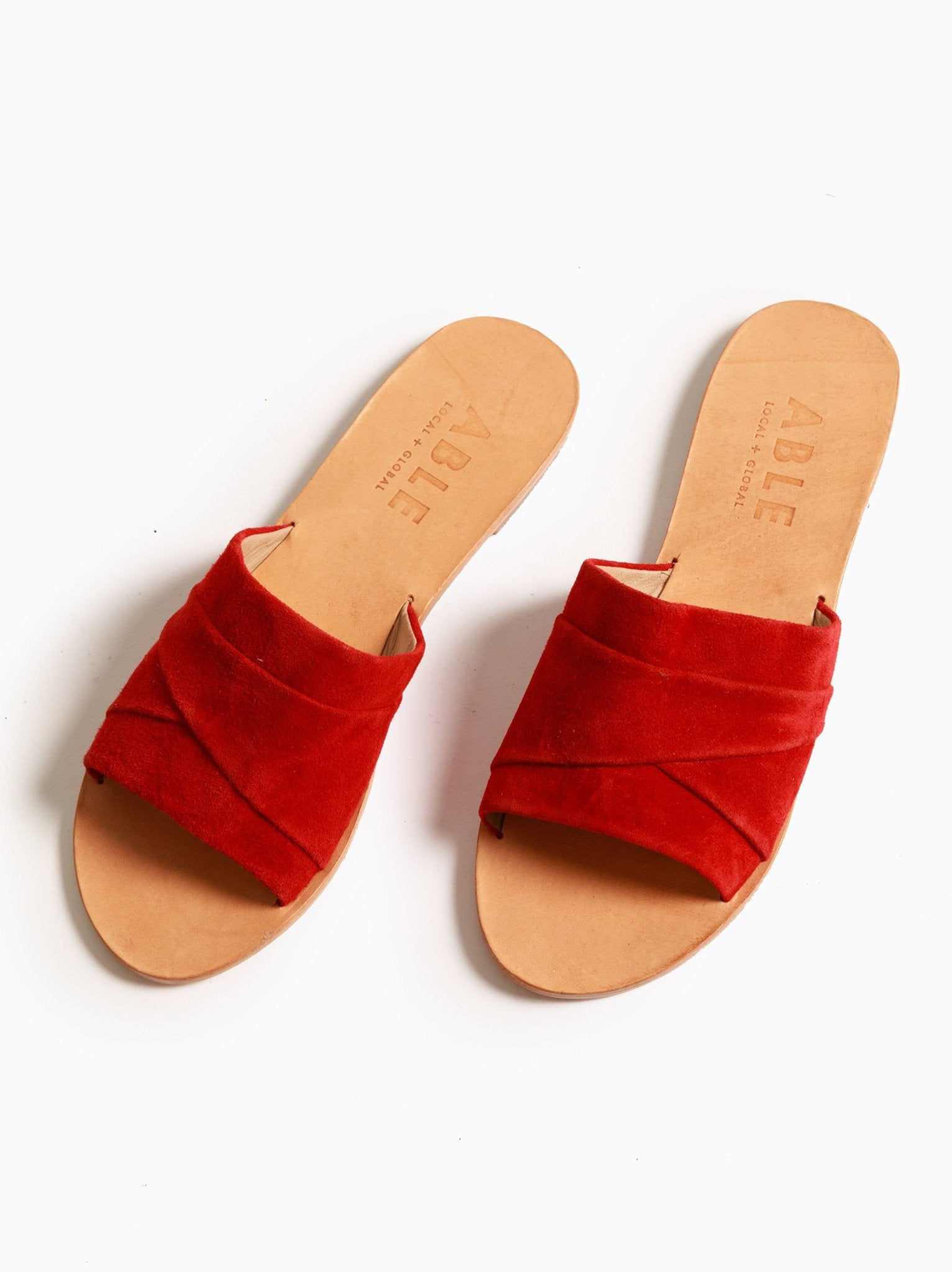 Oliveira Slide- Red