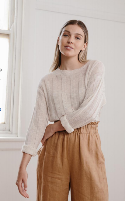 Lottie Top- Natural