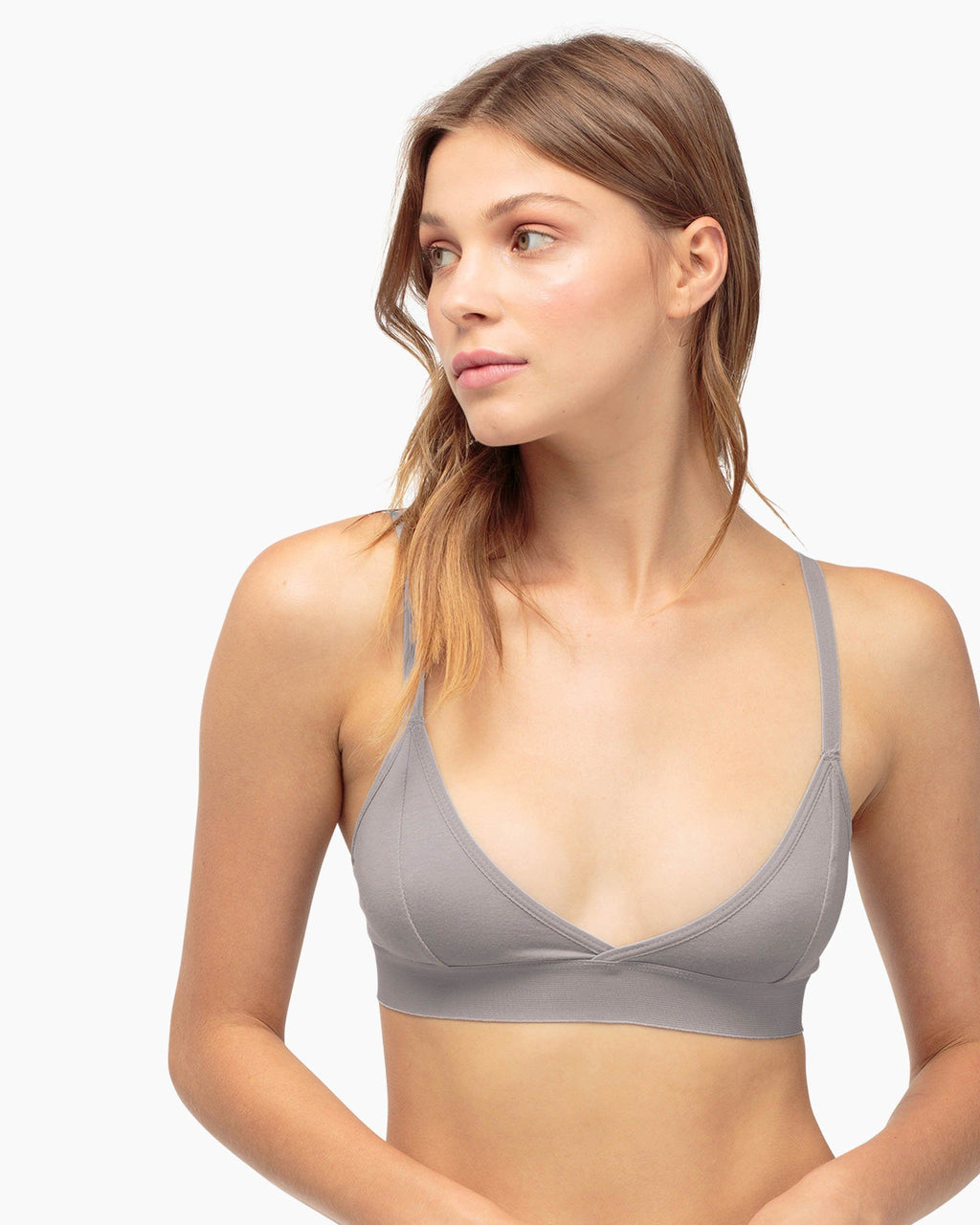 Classic Bralette-Charcoal