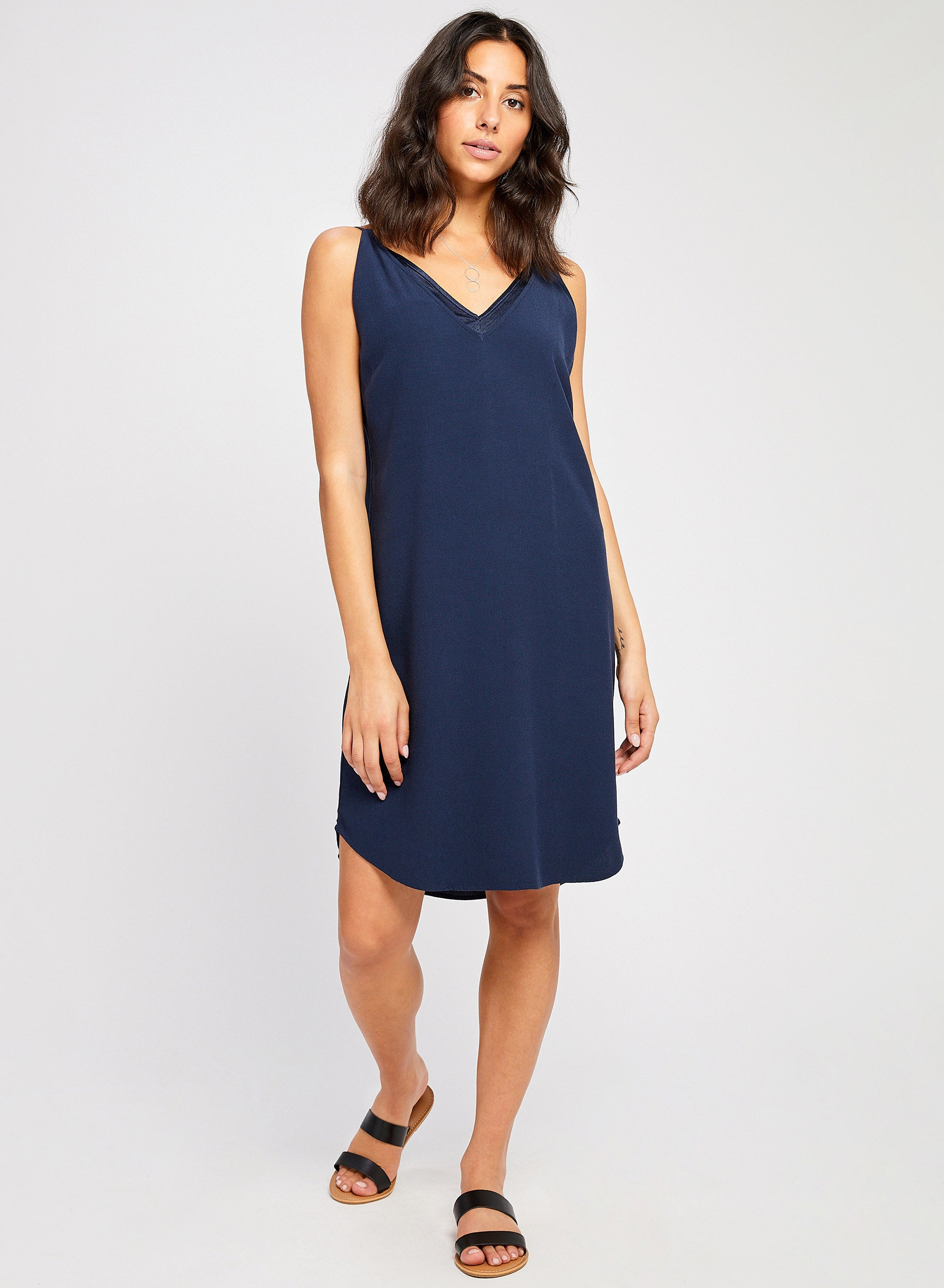 Aubrey Dress- Dark Navy