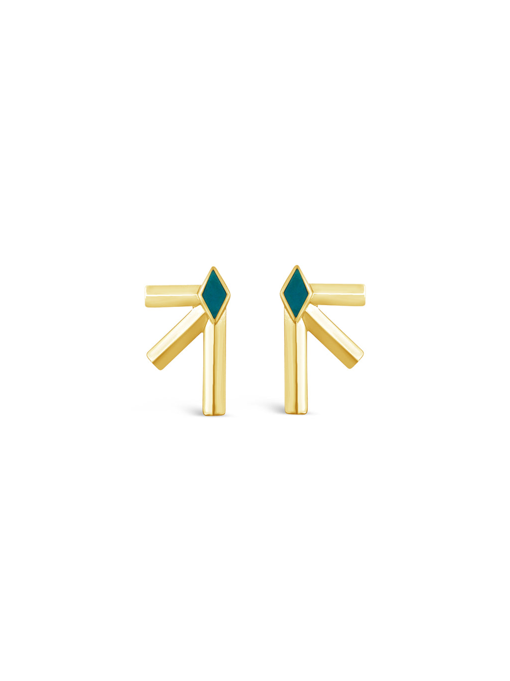 Bandit Earrings- Gold
