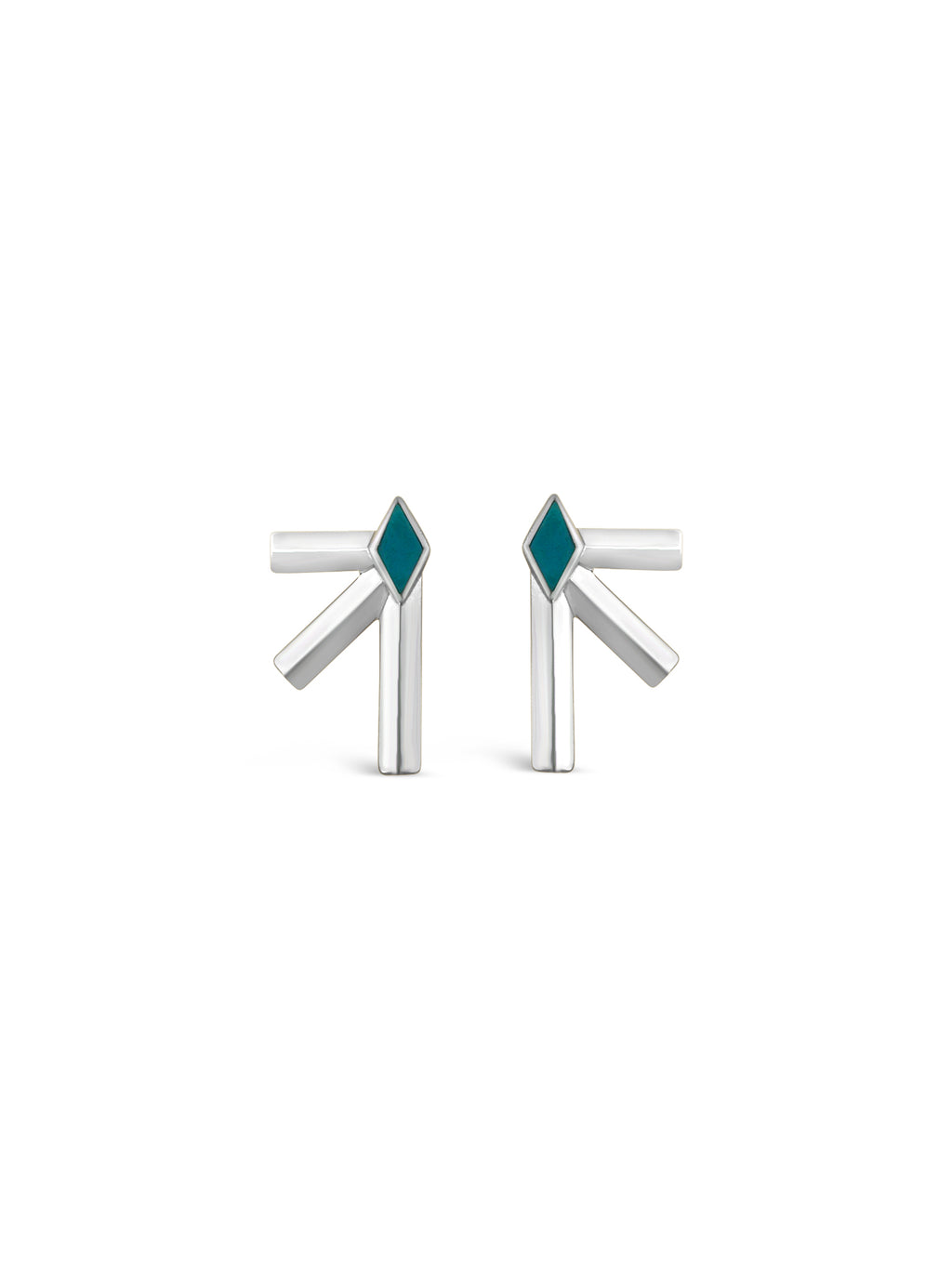Bandit Earrings- Sterling