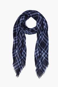 Plaid Cotton Scarf- English Manor