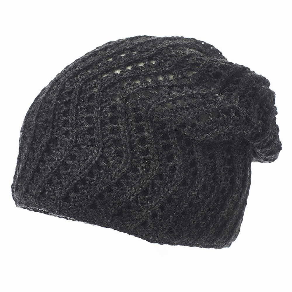 Lacey Slouch- Charcoal
