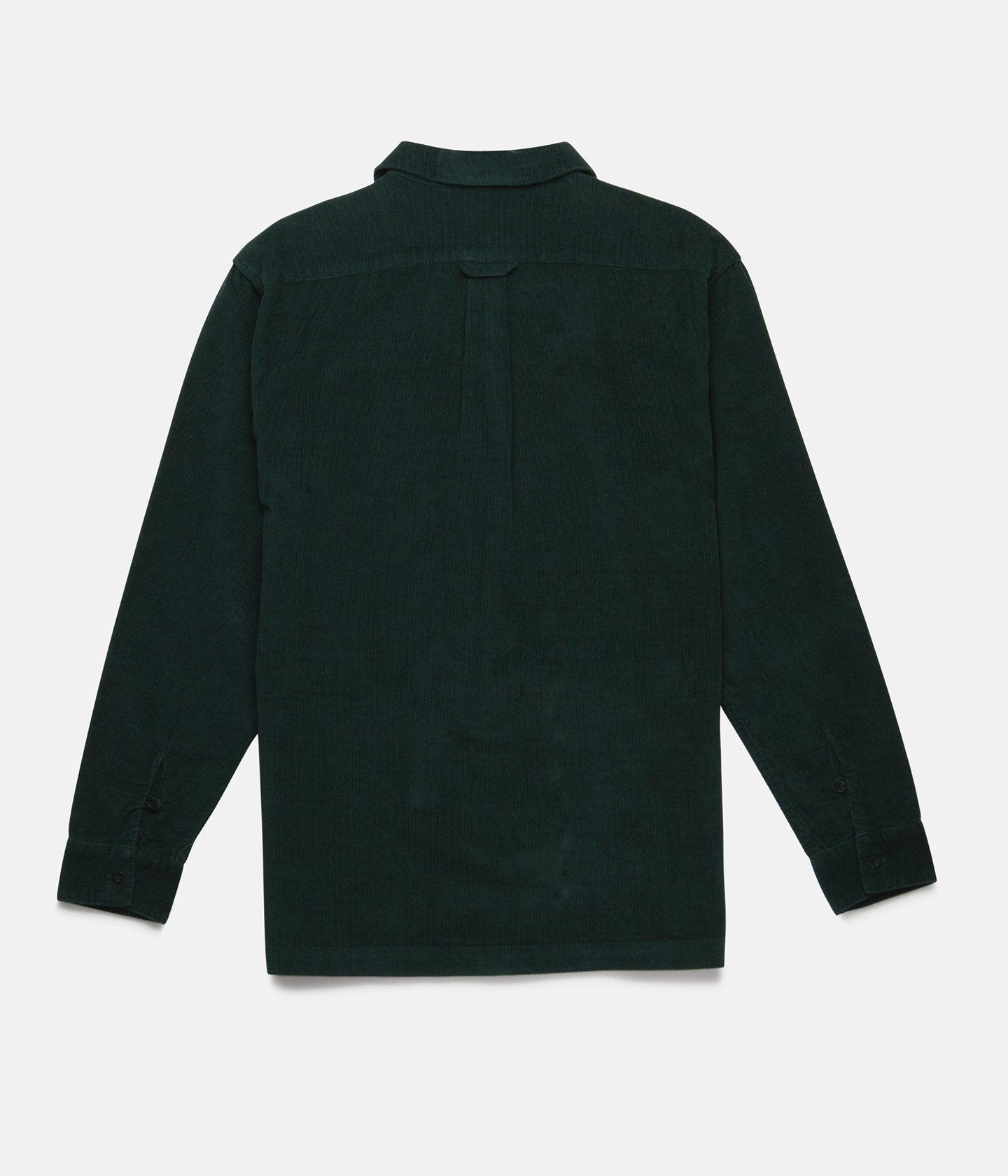 Corduroy Long Sleeve Shirt- Forest