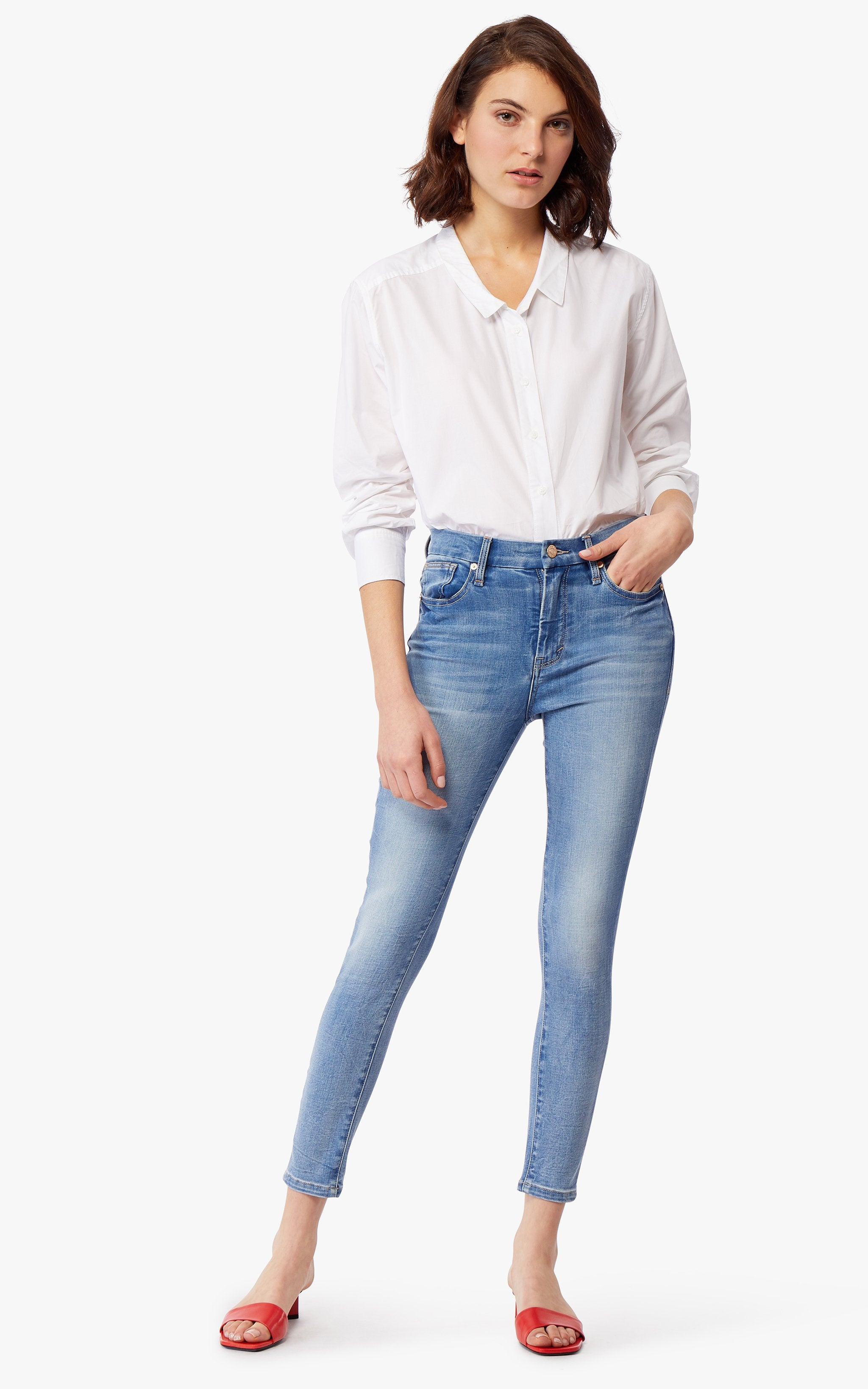 Cressa High Rise Ankle Skinny