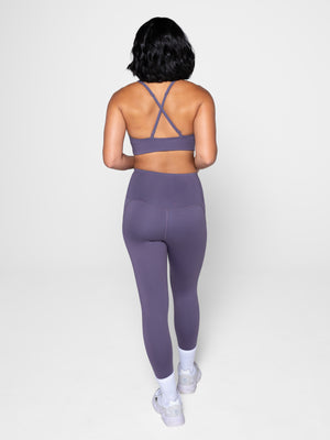 Compressive High Rise Leggings- Dahlia