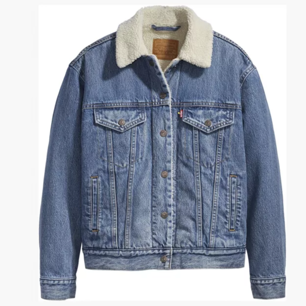 Ex-Boyfriend Sherpa Trucker Jacket- Addicted To Love
