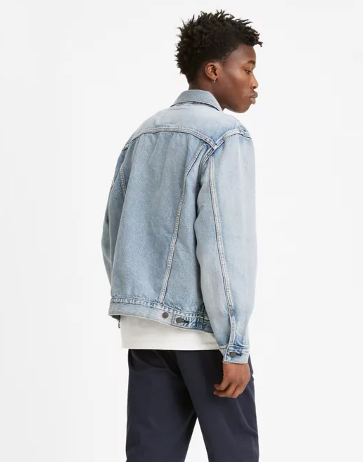 Vintage Fit Trucker Jacket- Lite Light Wash