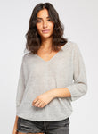 Tasha Sweater- Heather Grey