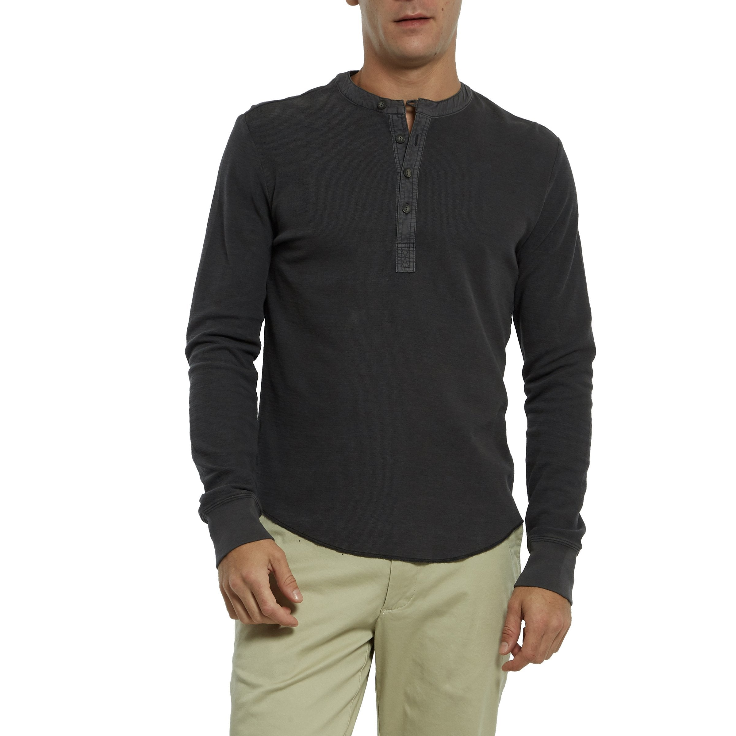 Campesina Double Cloth Thermal Henley