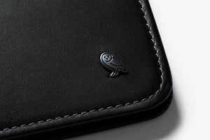Hide & Seek RFID Wallet- Black