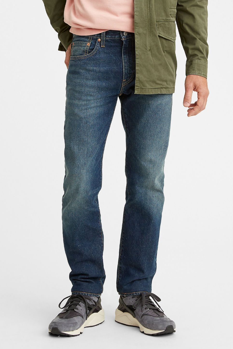 Levi's® WELLTHREAD™ 502™ Taper- Watermark Indigo High Tide