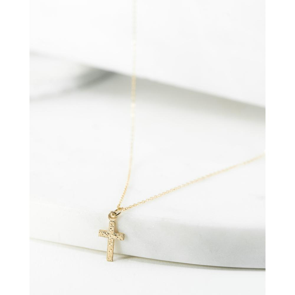 Crossed Hearts Necklace