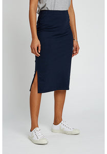Navy Keira Skirt