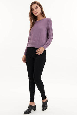 Valley Long Sleeve Top- Perkin