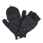 Bryant Fingerless Gloves- Charcoal
