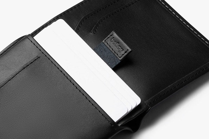 Note Sleeve Wallet- Black
