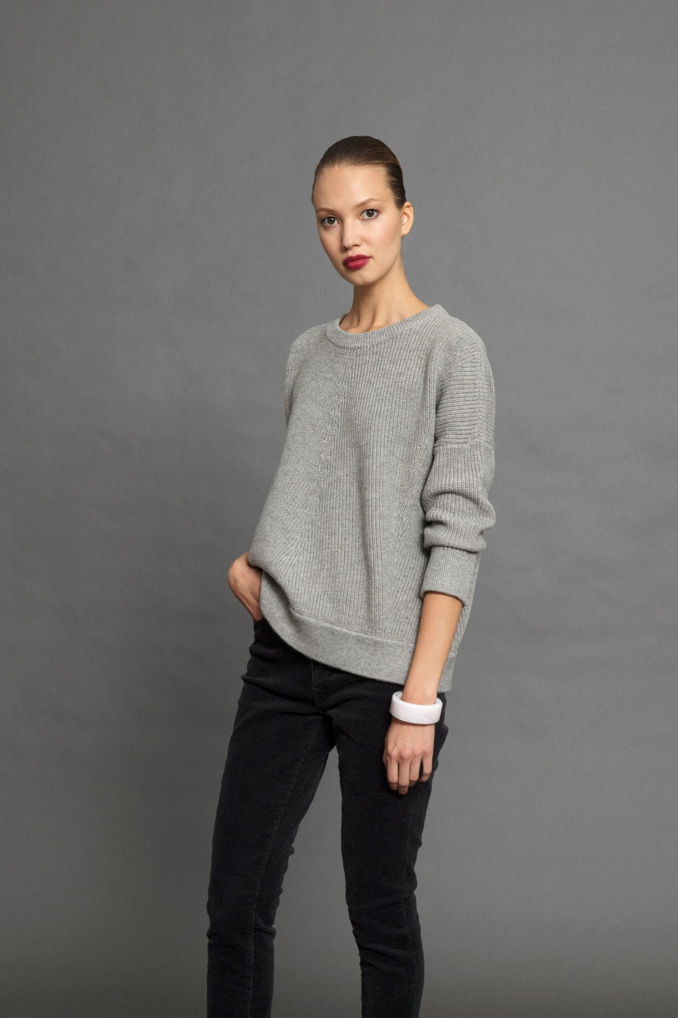 Rand Knit- Silver