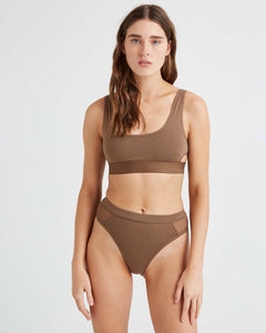 Scoop Bralette- Cub