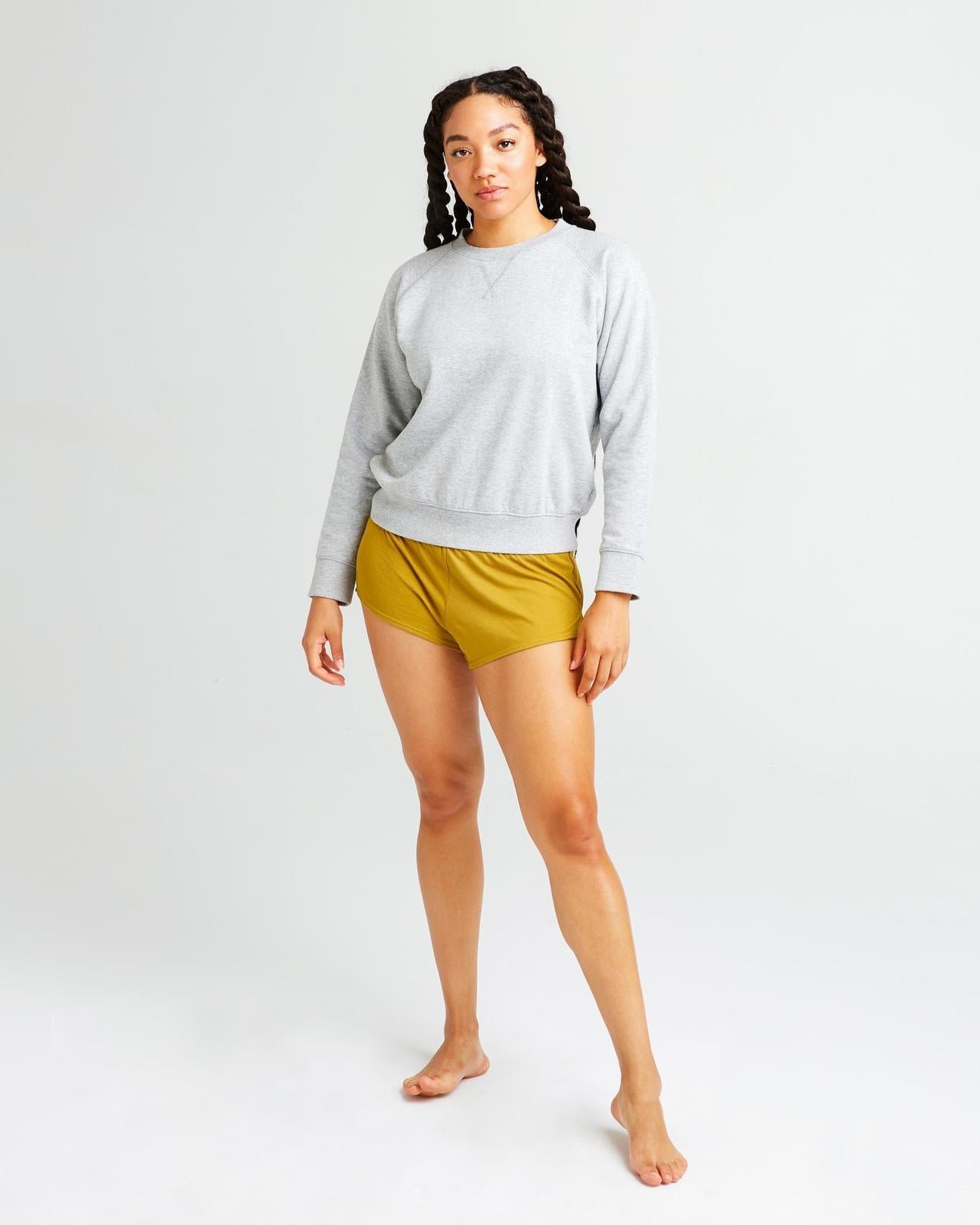 Sleep Shorts- Golden Verde