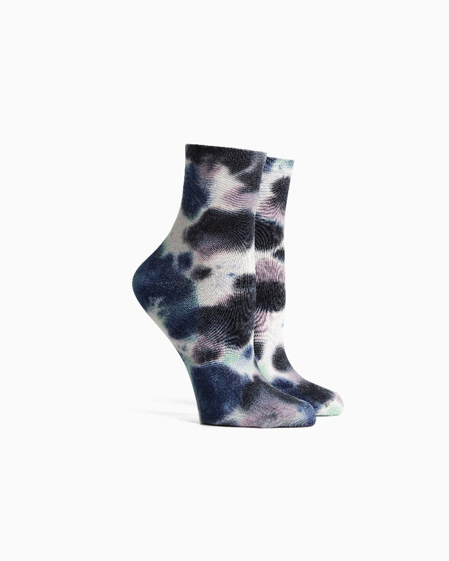 women's socks psych- blue nights
