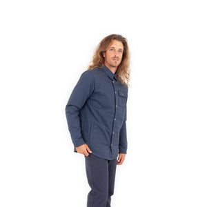 Cold Spring Shirt Jacket- Navy