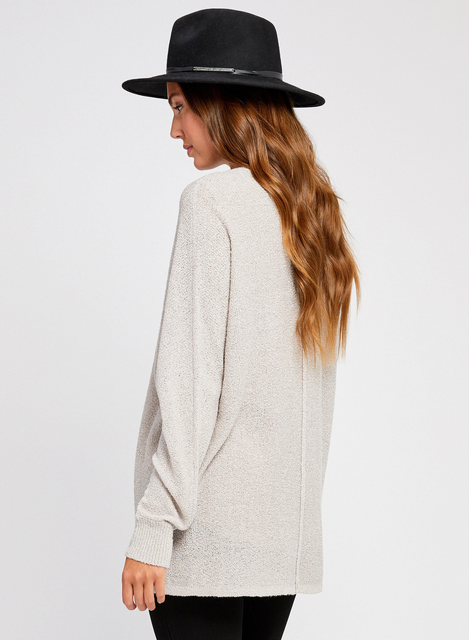 Shiloh Cardigan- Grey