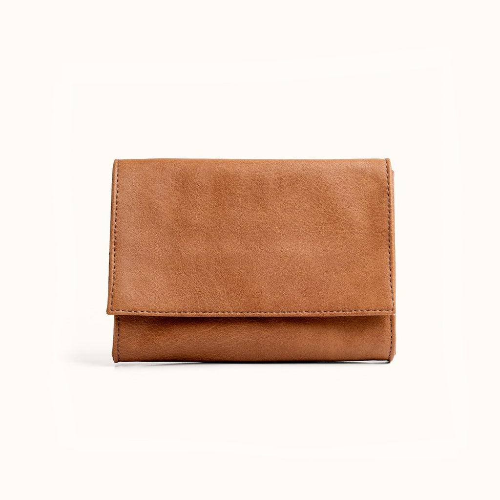 Small Minimal Wallet- Camel