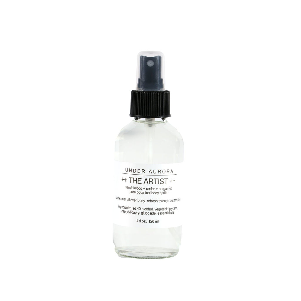 Botanical Body Spritz - The Artist
