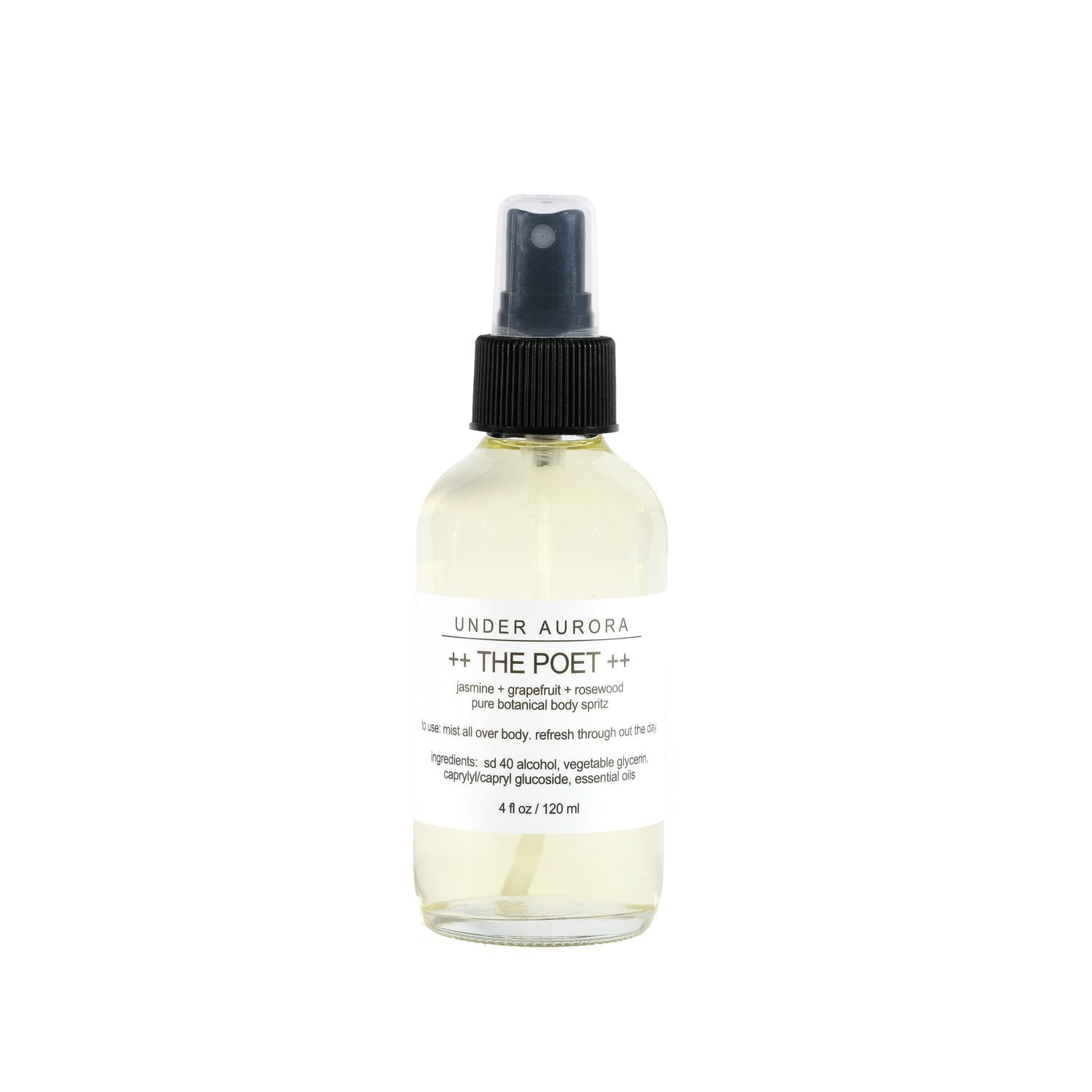 Botanical Body Spritz - The Poet