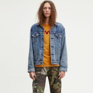 The Virgil Trucker- Light Vintage