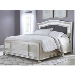 Coralayne B650 Calfornia King Upholstered Panel Bed (Beds - California King) - Jaimes Furniture