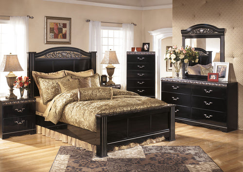 Constellations Queen Poster Bed - Jaimes Furniture