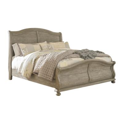 Marleny B644 King Sleigh Bed (Beds - King) - Jaimes Furniture
