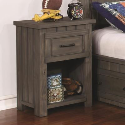 Napoleon 400932 Nightstand with USB Charging Ports (Kids Nightstands) - Jaimes Furniture