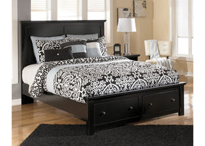 Maribel Queen Storage Platform Bed - Jaimes Furniture