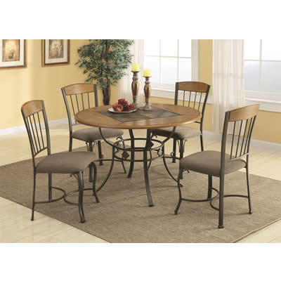 12077 5 pc Dining Set (Dining Room) - Jaimes Furniture