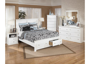 Bostwick Shoals Queen Storage Platform Bed - Jaimes Furniture