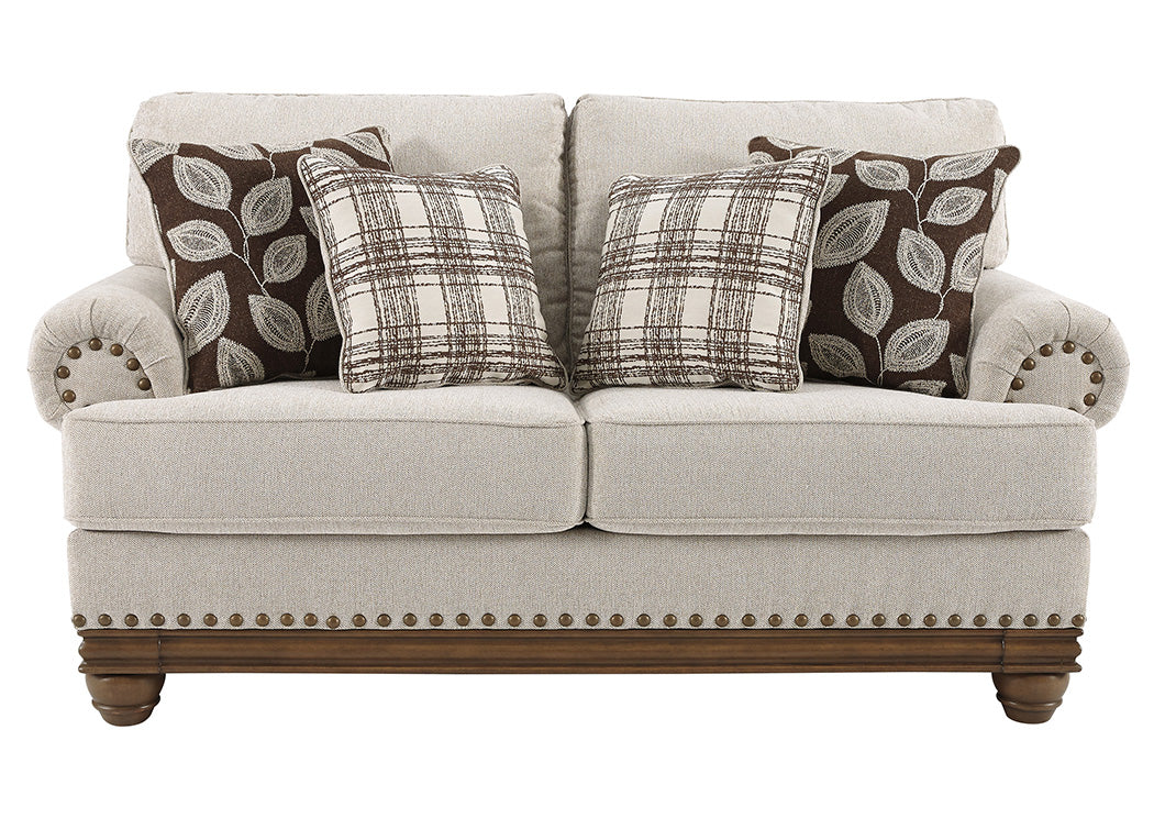 Harleson Wheat Loveseat - Jaimes Furniture