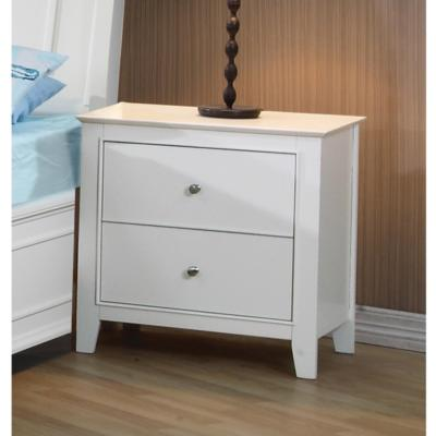 Selena 400232 2-Drawer Nighstand (Kids Nightstands - 2 drawers) - Jaimes Furniture