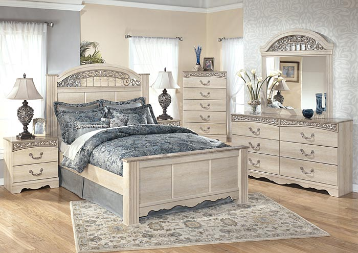 Catalina Queen Poster Bed - Jaimes Furniture