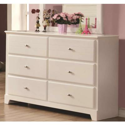Ashton 400763 6-Drawer Dresser (Kids Dressers - 6 drawers) - Jaimes Furniture