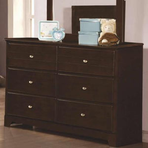 Ashton 400773 6-Drawer Dresser (Kids Dressers - 6 drawers) - Jaimes Furniture