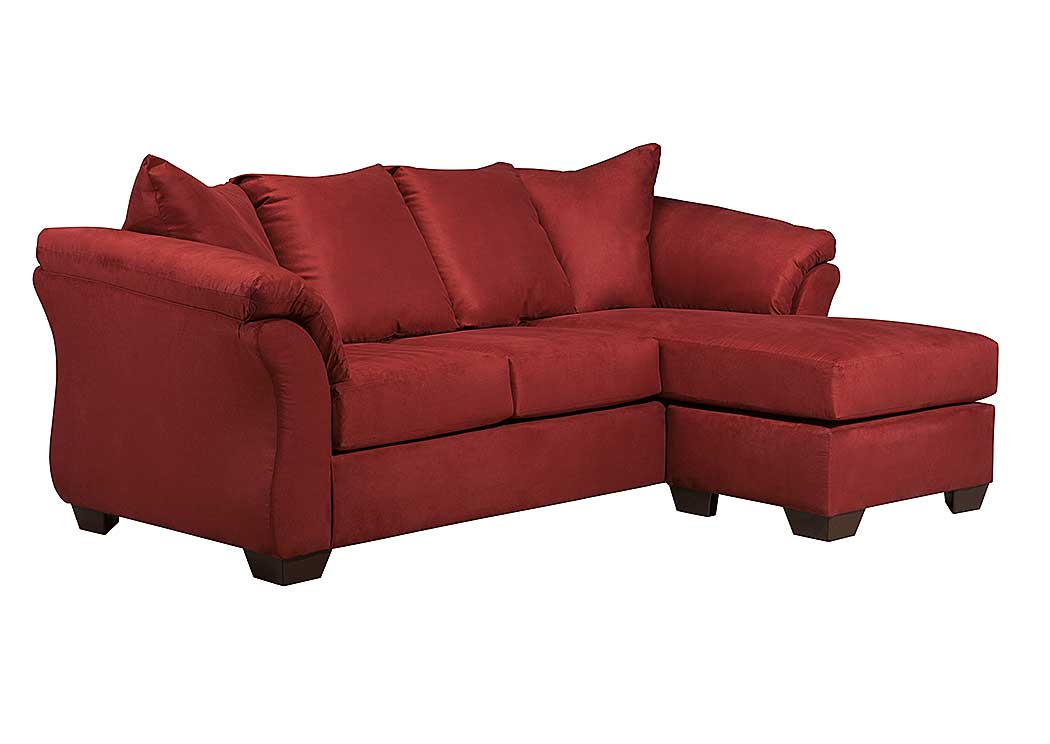 Darcy Salsa Sofa Chaise - Jaimes Furniture