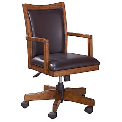 Cross Island H319-01A (Office Chairs - Leather) - Jaimes Furniture
