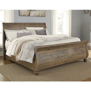 Trishley B659 California King Sleigh Bed (Beds - California King) - Jaimes Furniture