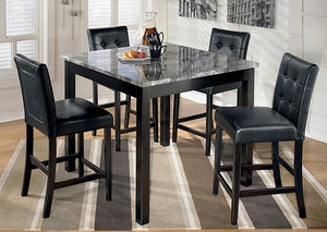 Maysville Square Counter Height 5 Piece Dining Set - Jaimes Furniture